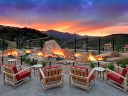 Outdoor Natural Gas Fire Pits Hgtv Resorts With The Sexiest Fire Pits Park City Hgtv And Outdoor