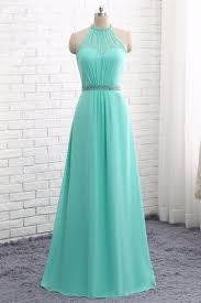 mint lace bridesmaid dresses 2018 mint chiffon a line neckline bridesmaid dresses