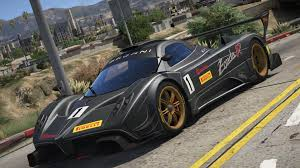 2012 pagani zonda r add on replace liveries template