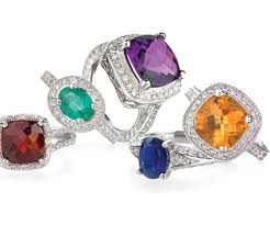 colored gemstone rings images Gem jewelry fine jewelry diamond engagement rings wedding bands png