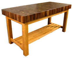 Butcher Build by Kitchen Butcher Block Rolling Island Butchers Block Table