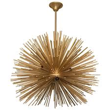Sputnik Chandelier Late 20th Century Italian Sputnik Chandelier In Brass Nyshowplace