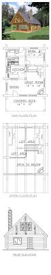 cabin with loft floor plans southern cottage floor plan small loft designsth garage coastal
