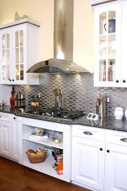 metal kitchen backsplash tiles metal backsplash view in gallery stainless steel tile in a white