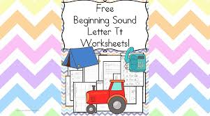 beginning sounds letter t worksheets free and fun