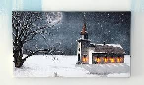 lighted canvas art with timer lighted canvas pictures lighted country church lighted canvas art 9