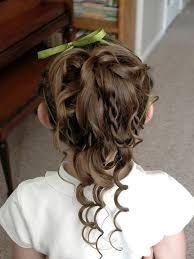 flower girl hair flower girl hair styles ideal weddings