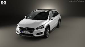 peugeot 508 2014 360 view of peugeot 508 rxh 2014 3d model hum3d store