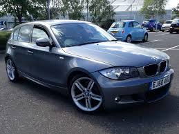 2010 bmw 118d m sport manual diesel grey 5dr hatch parking sensors