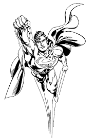 cool superman coloring pages kids printable super heroes