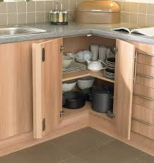 corner kitchen cabinet storage ideas picture of corner kitchen cabinet storage for pots and pans