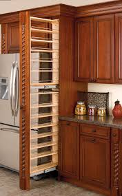 Pantry Cabinet With Pull Out Shelves by Rev A Shelf Filler Pullout Organizer With Wood Adjustable