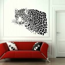 exclusive living room with purple walls and flower wall murals sweet tiger wall painting for natural living room idea create gorgeous interior design through living