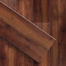 Vinyl Click Plank Flooring Luxury Click Vinyl Featherweight 6 X36 Smoked Hickory Plank Floor