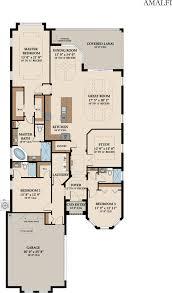 Custom Floor Plan The Amalfi Home Builders Palm Coast Bellagio Custom Homes