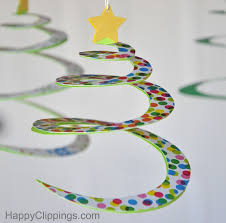 Outdoor Christmas Spiral Tree Decorations by Diy Spiral Paper Christmas Trees
