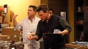 Tyler Florence Cheesecake Tyler Florence And Michael Chiarello How To Make A Pan Non Stick
