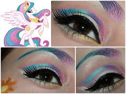 Unicorn Halloween Makeup by Princess Celestia Makeup What Fun What Other Rainbow Colors Can