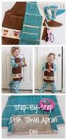 Kitchen Towel Craft Ideas Best 25 Towel Apron Ideas On Pinterest Baby Bath Towels Easy