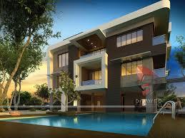 Row Houses Elevation - 3d animation 3d rendering 3d walkthrough 3d interior cut