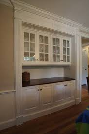 Cabinet Dining Room Best 25 Built In Hutch Ideas On Pinterest Built In Buffet