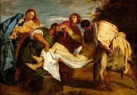 Delacroix Meme - la mise au tombeau d après titien wikipédia