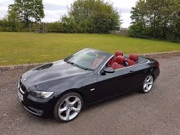 black convertible bmw 2007 bmw 335i petrol convertible black red leather in