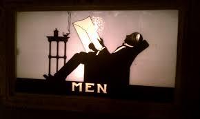 1930s bathroom 1930s vintage men u0027s bathroom sign bathroompress