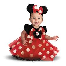Cute Minnie Mouse Halloween Costume Buy Disney Red Minnie Mouse Infant Costume