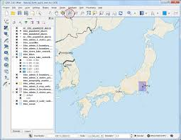 qgis layout mode making a map qgis tutorials and tips