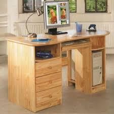 bureau d angle en bois massif bureau informatique en bois massif bureaux prestige