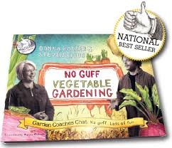 no guff vegetable gardening book donna balzer