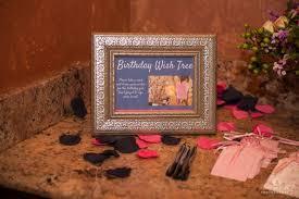 Birthday Wish Tree Preview 40th Birthday Celebrations U2013 Archana Rj Photography