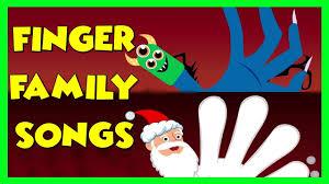 halloween finger family songs monster finger family santa