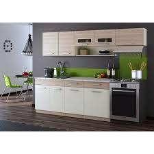 cuisine erable clair topaze érable clair foncé 2m40 6 meubles achat vente cuisine