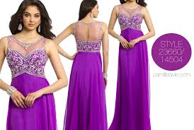 shop purple dresses for prom 2014 at camille la vie camille la vie