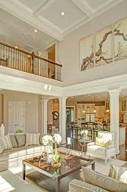 coffered ceiling paint ideas shocking two story family room with coffered ceiling den picture