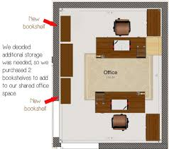 Home Office Floor Plan 6 Steps To Arrange Your Shared Home Office Space Finding Time To Fly