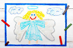 baby angel sketch stock photos royalty free stock images