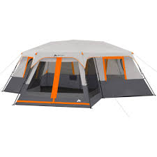 Outdoor Screen House by Ozark Trail 12 Person 3 Room Instant Cabin Tent With Screen Room