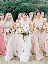 bridal party dresses bridesmaids dresses 3 styling ideas we the groom bridal