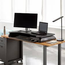 cubicle standing desk cube plus series varidesk adjustable