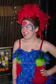 Treasure Chest Halloween Costume Homemade Parrot Halloween Costume Idea Halloween