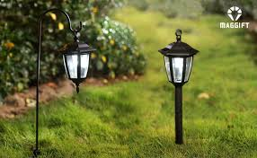 Solar Lights Hanging by Amazon Com Maggift Lantern Outdoor Shepard Path Hanging Solar