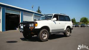 1997 lexus lx450 brush guard on this 1995 toyota 80 series land cruiser we installed an arb 4x4
