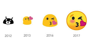 android smileys say goodbye to s gumdrop blob emojis slashgear