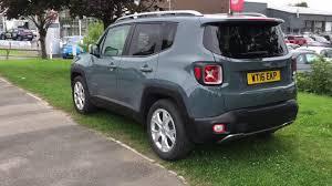 grey jeep renegade 2016 jeep renegade m jet limited 1 6l grey wt16ekp youtube