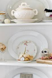 home decor shelves beautiful ways to blend fall and halloween decor 12 blog home tours