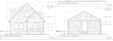 pictures on front view of a house plan free home designs photos