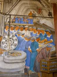 Diego Rivera Rockefeller Center Mural Controversy by Diego Rivera Glancing Blows